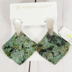 Kendra Scott Astoria Earrings African Turquoise